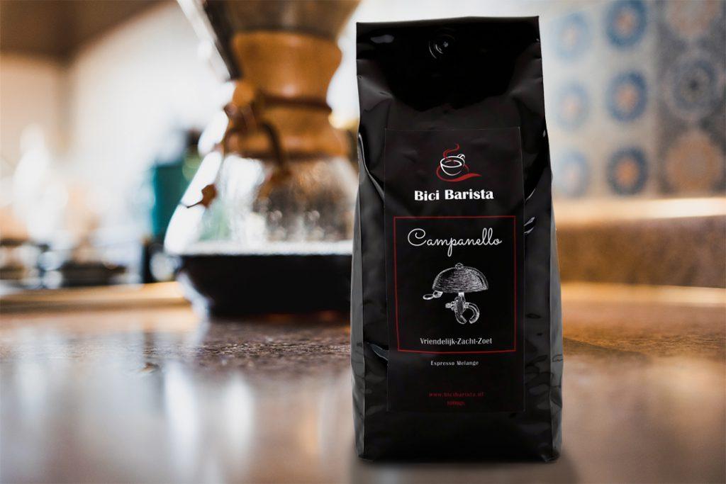 Bici Barista Campanello koffie