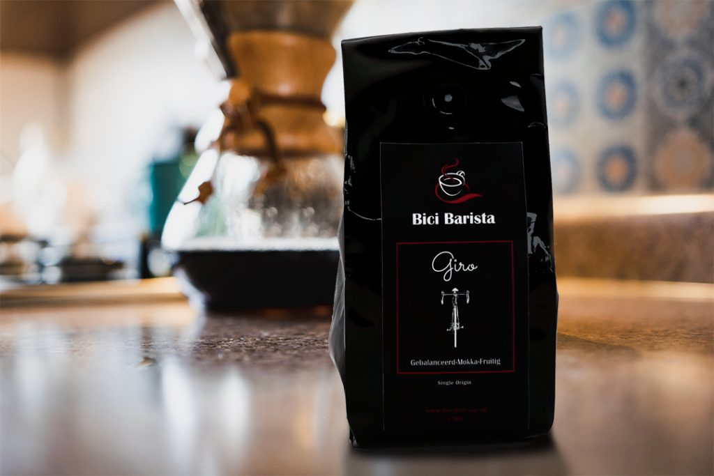 Bici Barista Giro koffie