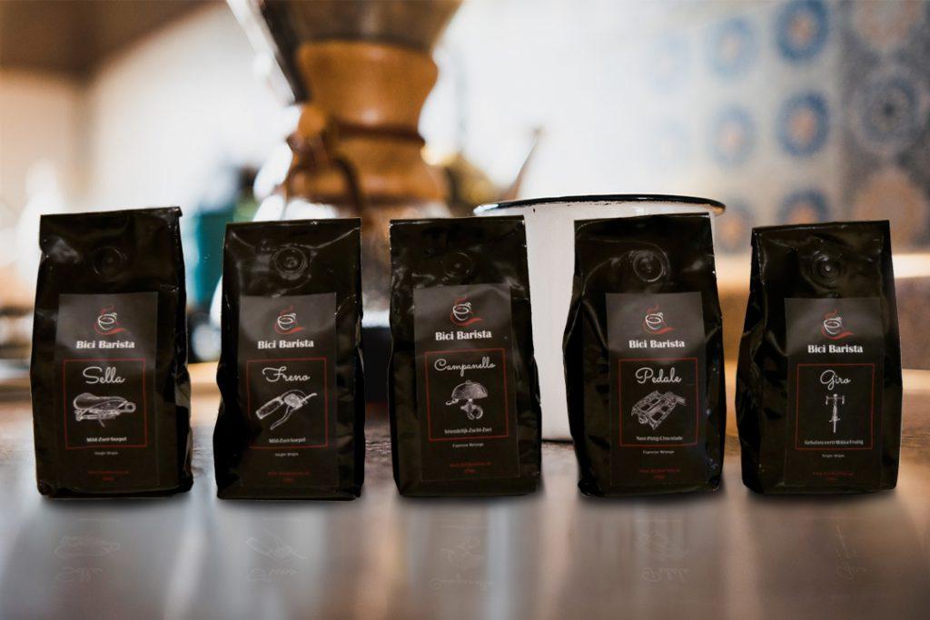 Bici Barista koffie bestellen