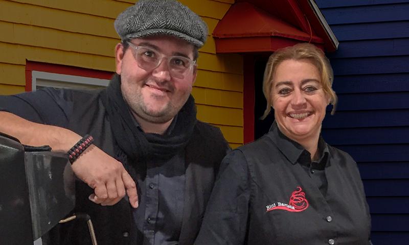 Bici Barista Weert d- Roy en Patricia